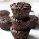 Double Chocolate Fudge Muffins