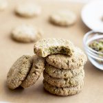 Powdered Pistachio Protein Cookies