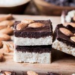 Chocolate Almond Coconut Candy Bars