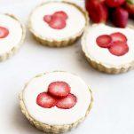 Mini Strawberry Lime Tarts