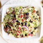 Easy & Healthy Honey Dijon Brussels Sprout Salad