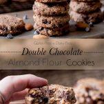 double chocolate almond flour cookies pinterest .wiw