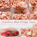 strawberry rice crispy treat pinterest wiw