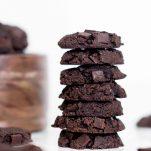 Vegan Double Chocolate Chia Cookies