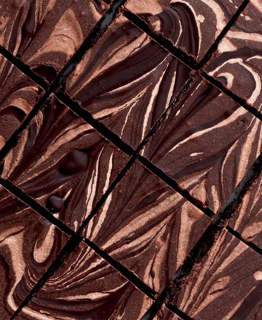 No-Bake Chocolate Almond Butter Marble Bars