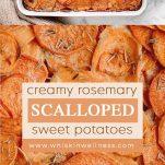 scalloped sweet potatoes wiw pinterest