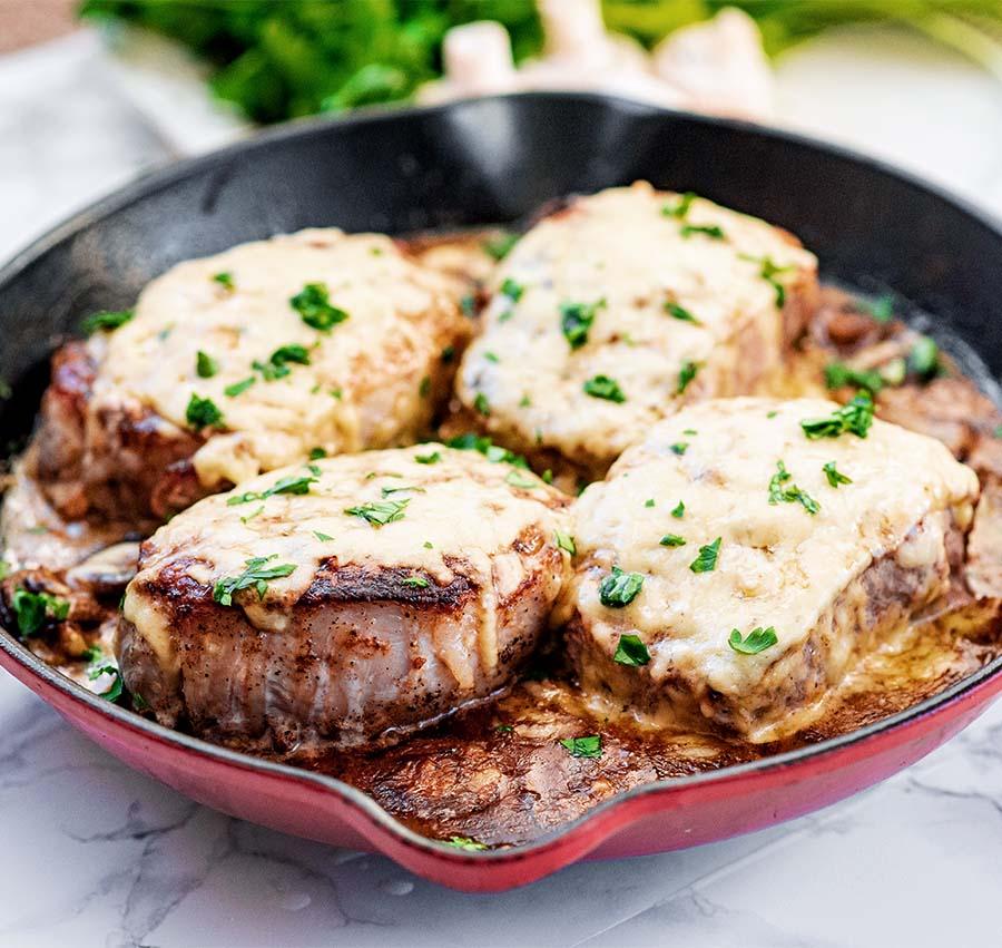 cheesyoneskilletporkw.mushrooms.wiw .12