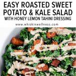 roasted pot kale salad wiw pinterest