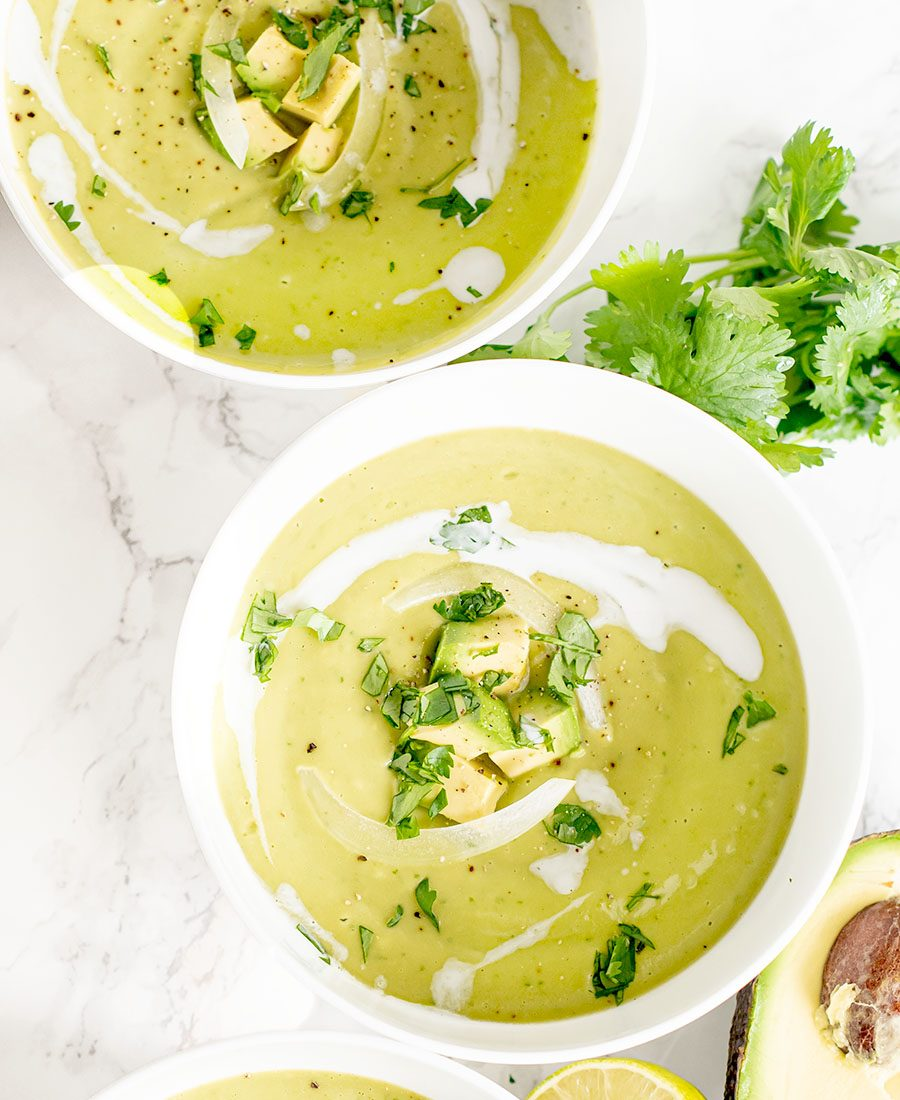 chilled avocado chile pepper vegan soup wiw featured 2