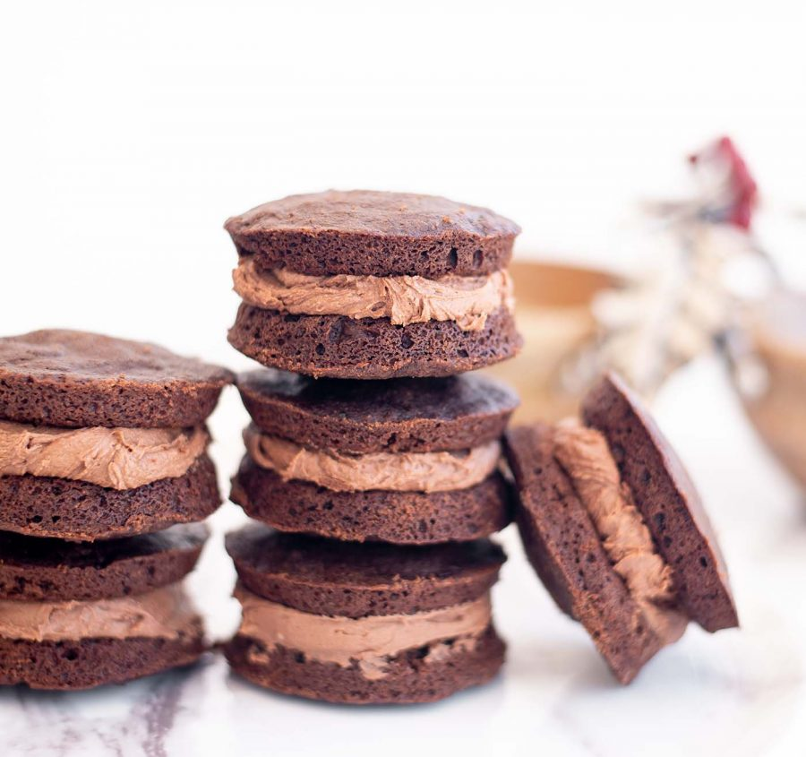 gluten free double chocolate peppermint whoopie pies whisk in wellness 4