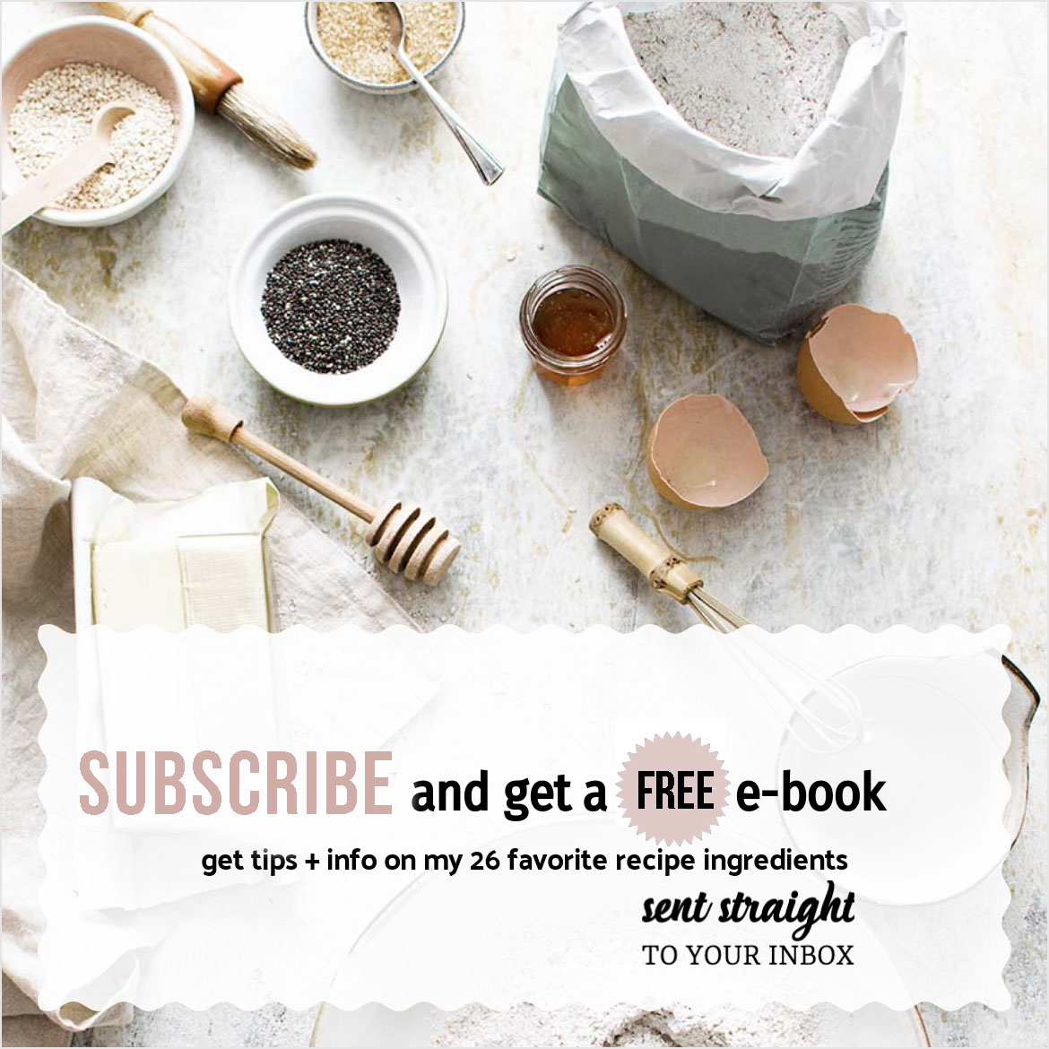 subscribe to whisk in wellness for free ebook pink